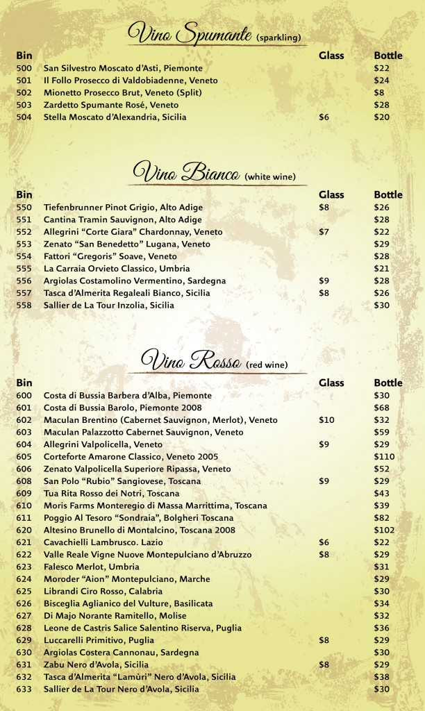 Wine list Aug2013-1